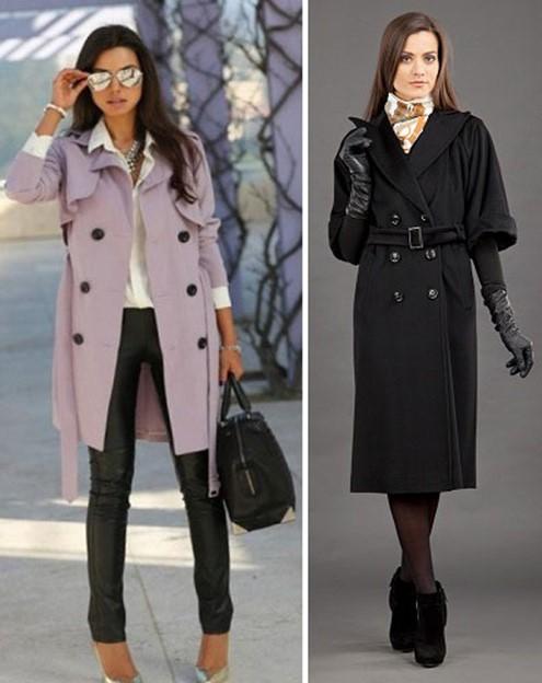C чем надеть пальто с короткими рукавами