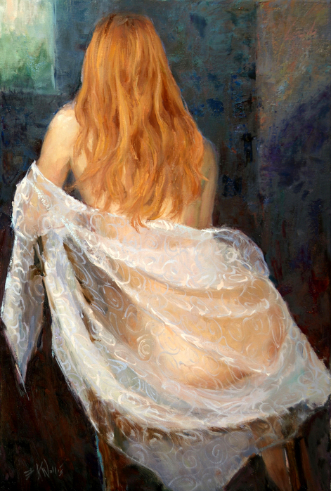 27406904_1_Eric_Wallis___Lace_and_Red_Hair30x20 (471x699, 476Kb)