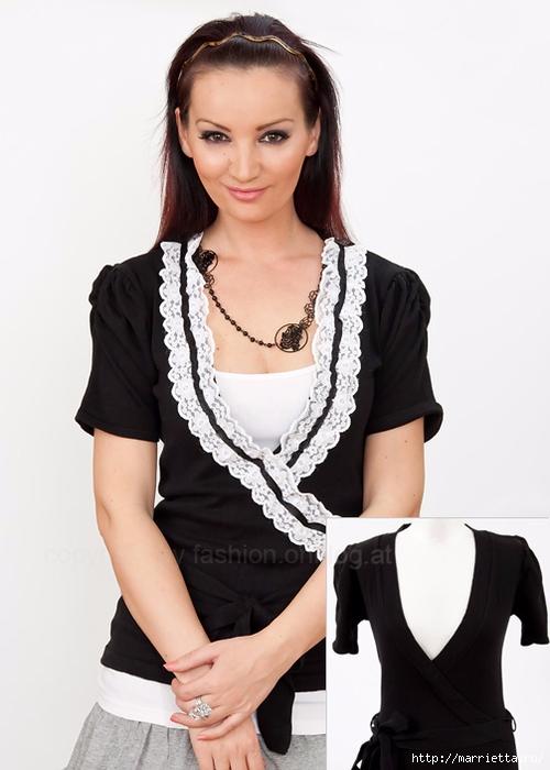 Стильное декорирование кружевами украшений, аксессуаров, одежды и обуви от Dana's Fashion (56) (500x700, 173Kb)
