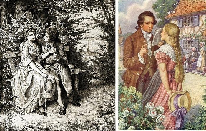 Страдания Романтика юного Вертера (700x446, 198Kb)