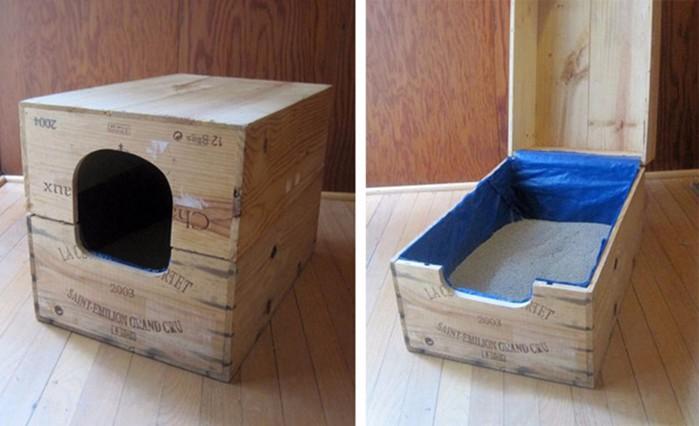 Кошкин дом! 70 свежих идей интерьера для домашних любимцев