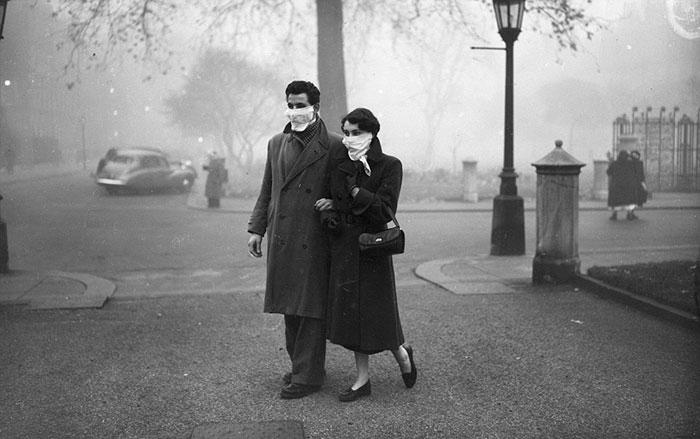 большой смог в лондоне 1952 год 6 (700x439, 153Kb)