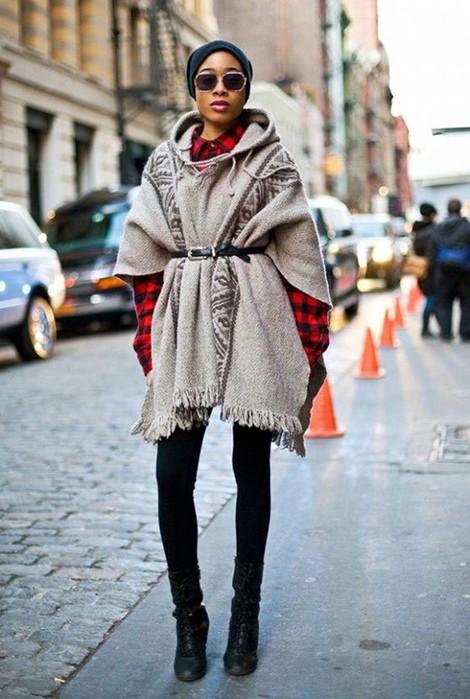 Будет тепло! 13 стильных осенних образов с кардиганом