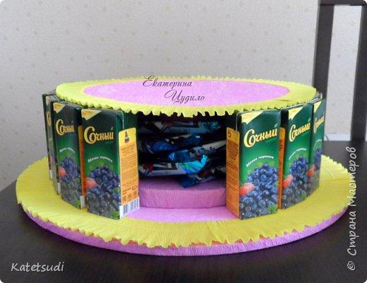 Как сделать торт в садик