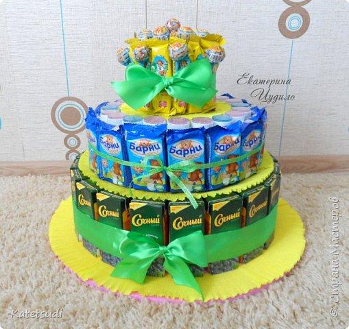 Торт из барни своими руками мастер класс
