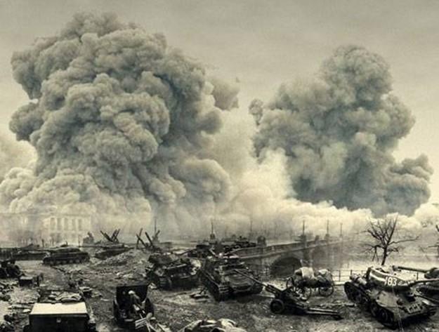 Как немцы оборонялись в 1945 году