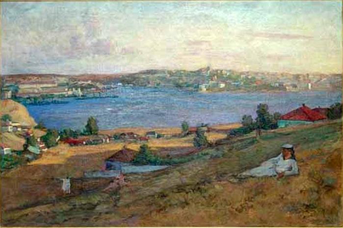 Федоров Герман Васильевич.  Севастополь 1930 - е (700x466, 299Kb)