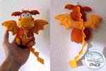 ������ дракончик из фетра 3 (564x376, 184Kb)