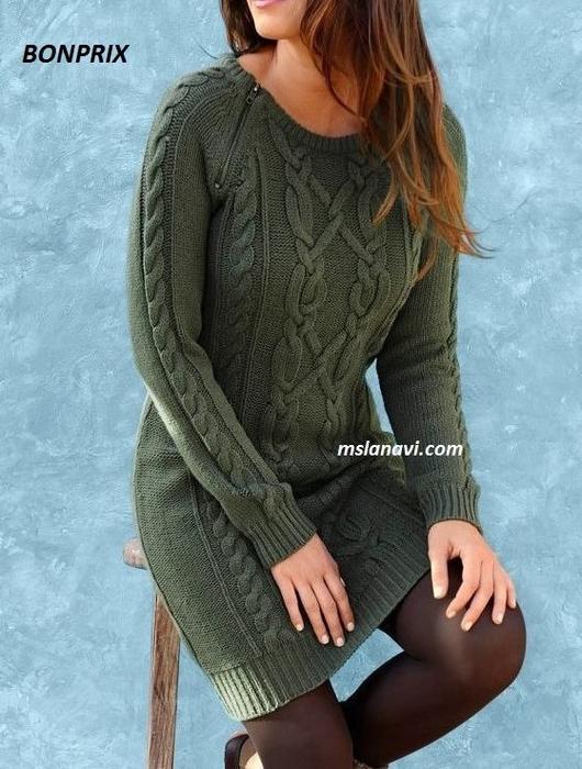 вязаное-платье-спицами-BONPRIX-детали (530x700, 331Kb)