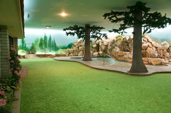 Особняк с секретом   подземный бункер в Лос Анджелесе (фото, видео)