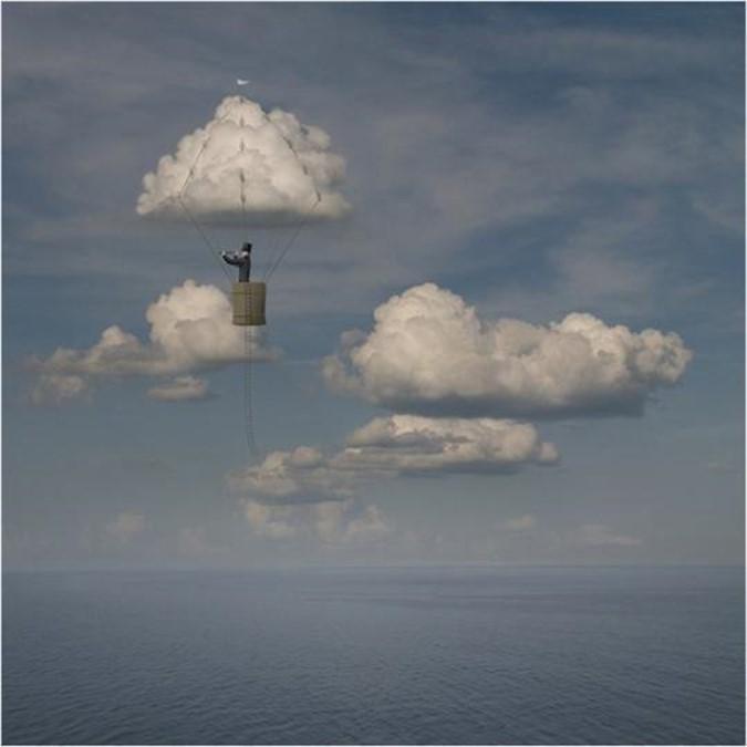На облаках с художником Чесловасом Чеснакевичусом