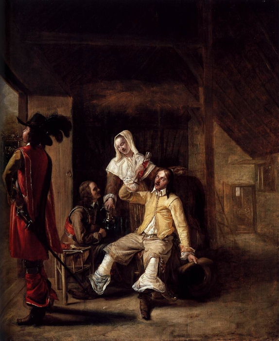 5961881_Pieter_de_Hooch__Two_Soldiers_and_a_Serving_Woman_with_a_Trumpeter__WGA116811 (574x700, 282Kb)