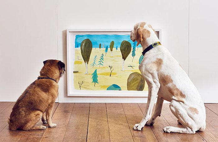 искусство для собак 3 (700x458, 189Kb)