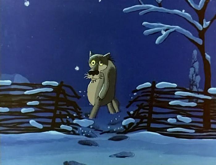 Один волк вышивка схема жил был волк