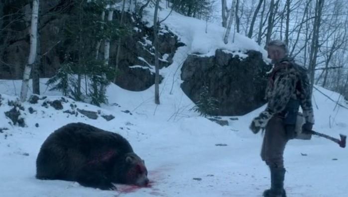 Пожилой японский каратист голыми руками победил гималайского медведя