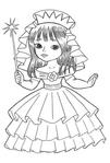 Превью раскраски для девочек 2 (409x604, 130Kb)