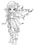 Превью раскраски для девочек..2 (457x604, 122Kb)