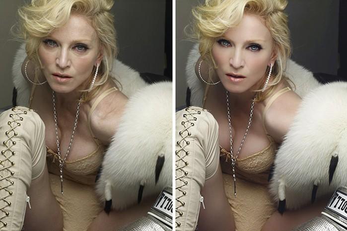 Фотографии знаменитостей до обработки снимков Фотошопом