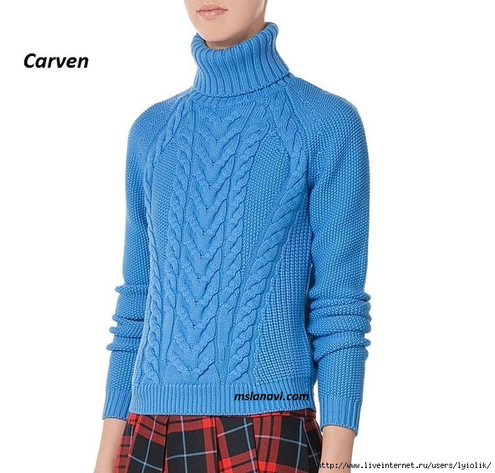Вязаный-свитер-от-Carven-перед (700x668, 241Kb)