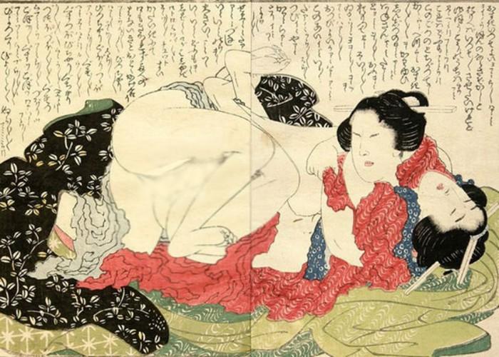 Древняя Япония — родина диких развлечений и сексуальных извращений