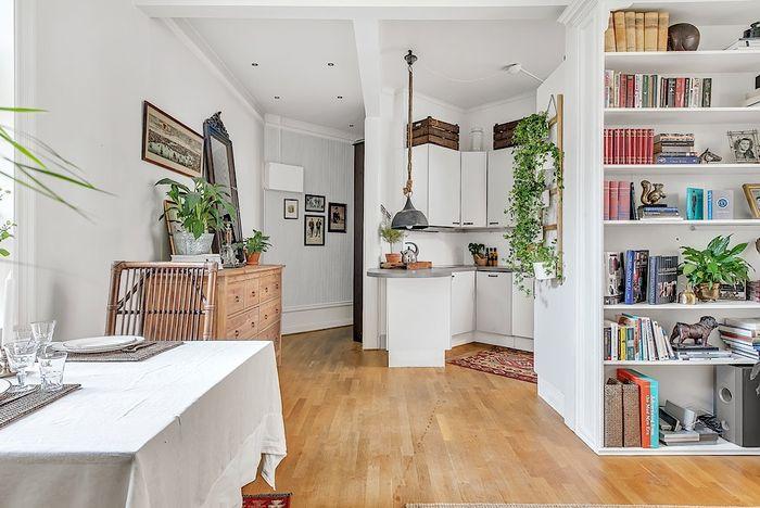 дизайн интерьера маленькой квартиры 1 (700x468, 259Kb)