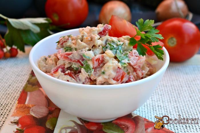 recipes9653 салат из курицы, помидор (700x466, 372Kb)