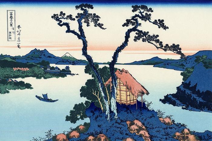 07-Lake_Suwa_in_the_Shinano_province (700x466, 420Kb)