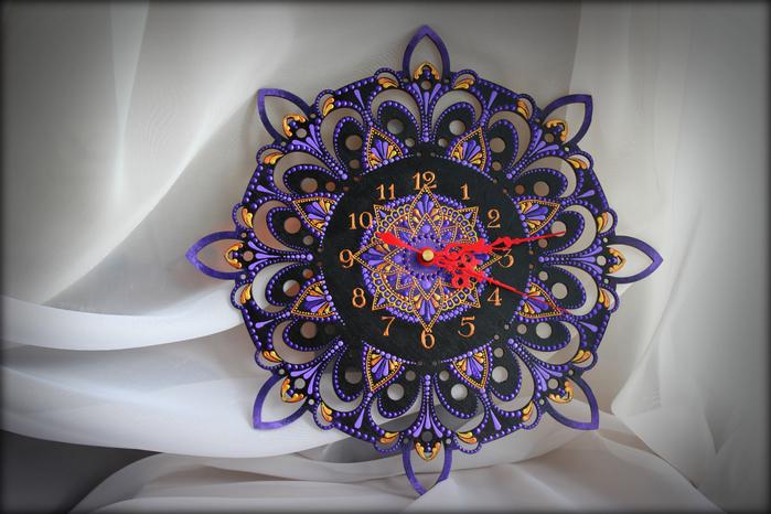 часы - Фиолетовые Сумерки 3 (700x466, 402Kb)