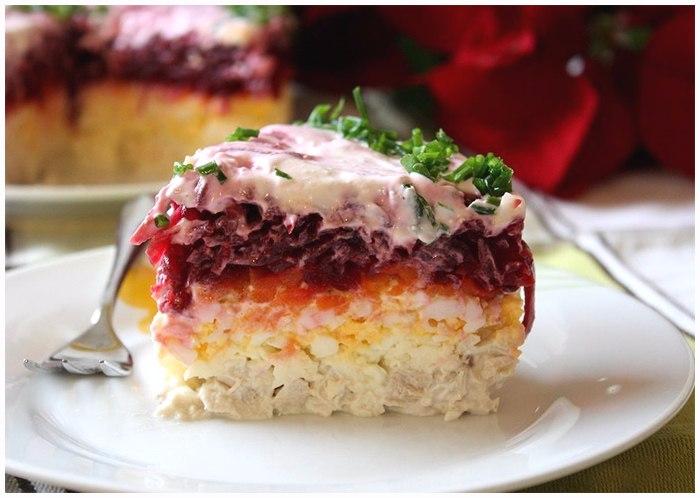 Вкусный салат Мой генерал (1) (700x498, 276Kb)