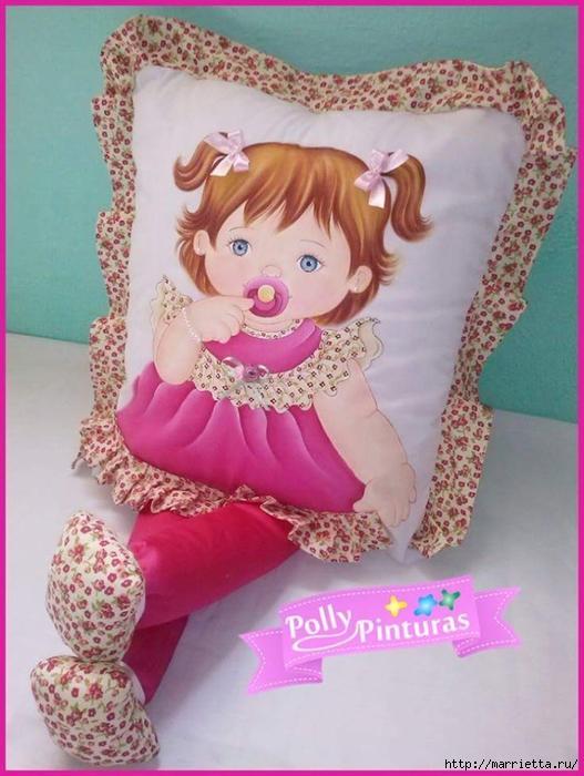 好玩漂亮的婴儿娃娃抱枕 - maomao - 我随心动