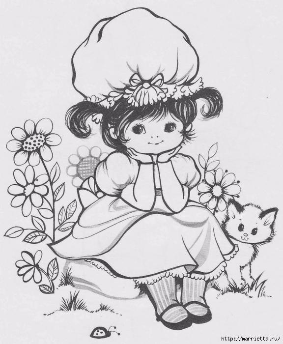 Детские подушки-куклы с росписью акриловыми красками (40) (576x700, 231Kb)