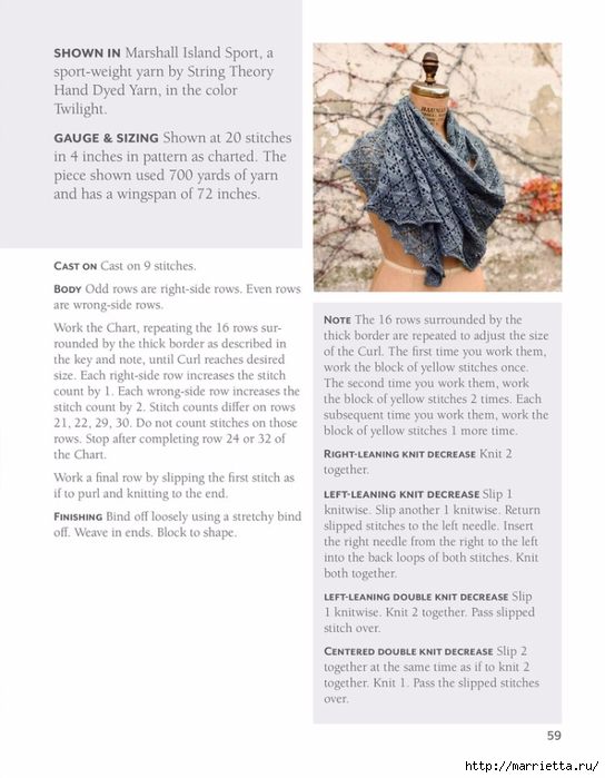 Вяжем спицами БАКТУС. Журнал со схемами (75) (544x700, 195Kb)