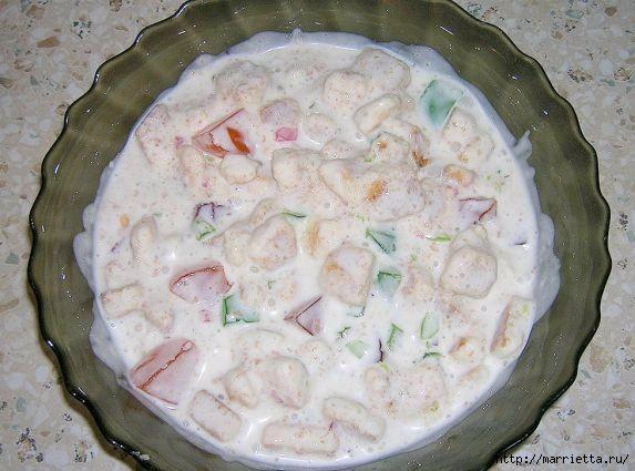 Фото рецепт торта Битое стекло (8) (573x425, 145Kb)