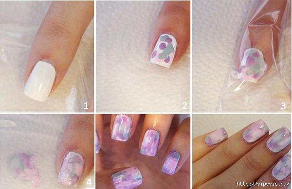 Красивые маникюры на ногти в домашних условиях