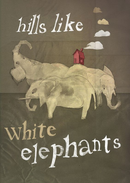 the sympathetic ernest hemingway in hills like white elephants