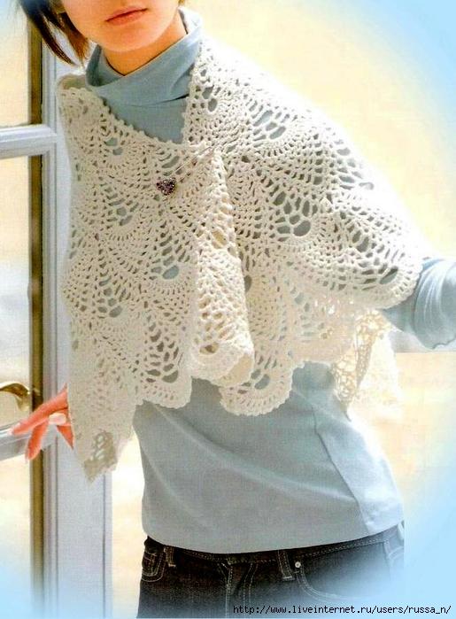 Crochet Pineapple Lace 10 (515x700, 274Kb)