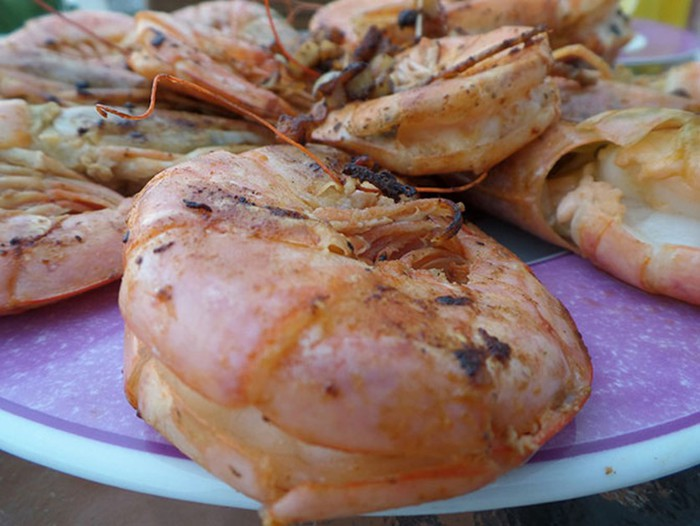 Королевские креветки с чесноком— как их приготовить