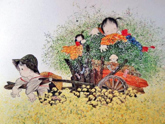 картины Nakajima Kiyoshi 1 (700x525, 430Kb)