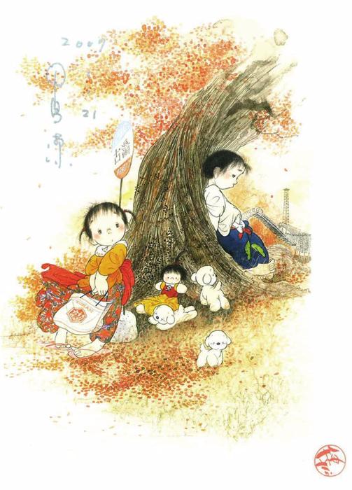 картины Nakajima Kiyoshi 4 (503x700, 353Kb)