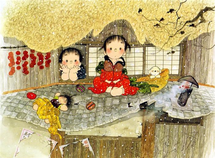 картины Nakajima Kiyoshi 6 (700x515, 549Kb)
