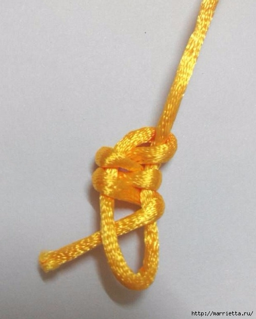 Плетение. Тройной узелок (4) (499x621, 123Kb)
