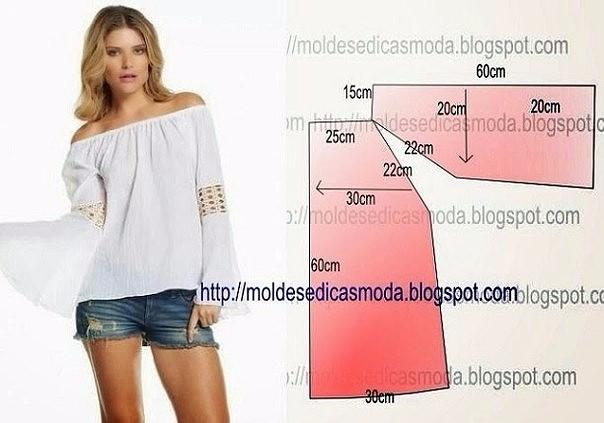 Выкройки женской одежды (5) (604x423, 161Kb)