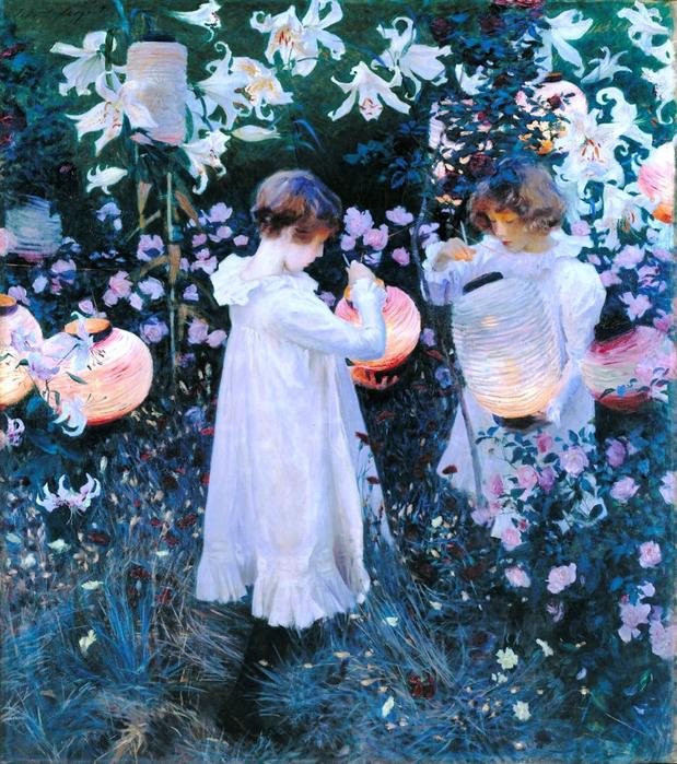 Гвоздика, лилия, лилия, роза 1886 (619x700, 643Kb)