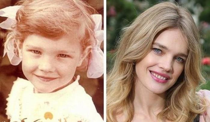 Известные супермодели в детстве (фотографии девочек и девушек)
