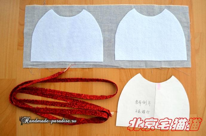 Круглая сумочка с кожаными ручками. Шьем сами (2) (690x457, 254Kb)