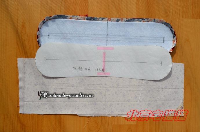 Круглая сумочка с кожаными ручками. Шьем сами (10) (690x457, 198Kb)