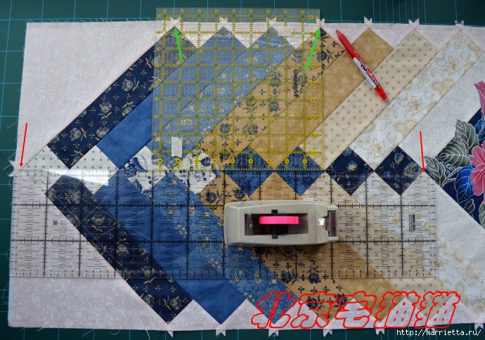 Лоскутное панно-ковер на стену. Пошаговый МК (17) (690x484, 299Kb)