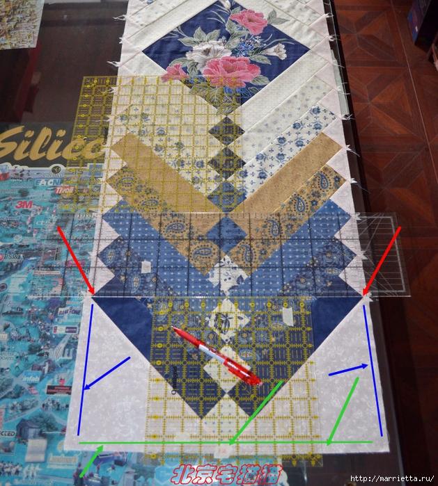 Лоскутное панно-ковер на стену. Пошаговый МК (19) (629x700, 448Kb)
