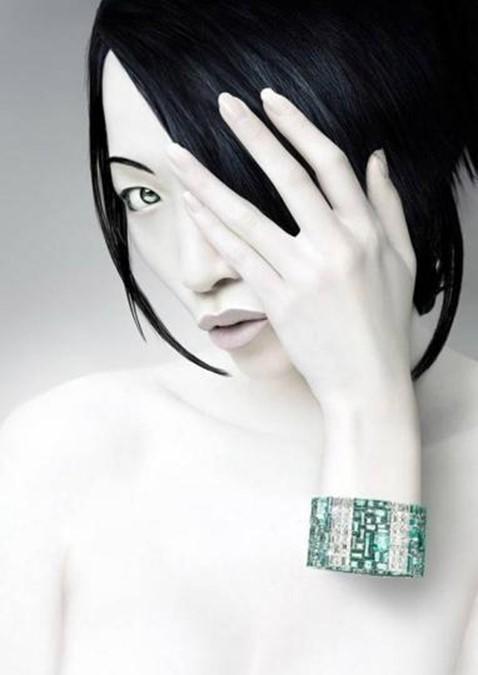 Симпатичные «фотошопные» женщины Кристофа Гилберта