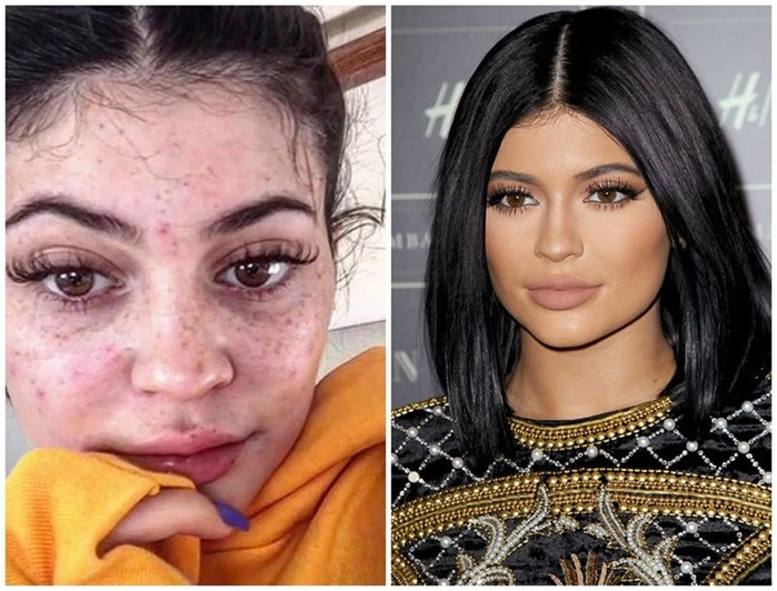 Большая разница: звезды, которых мы бы не узнали без макияжа